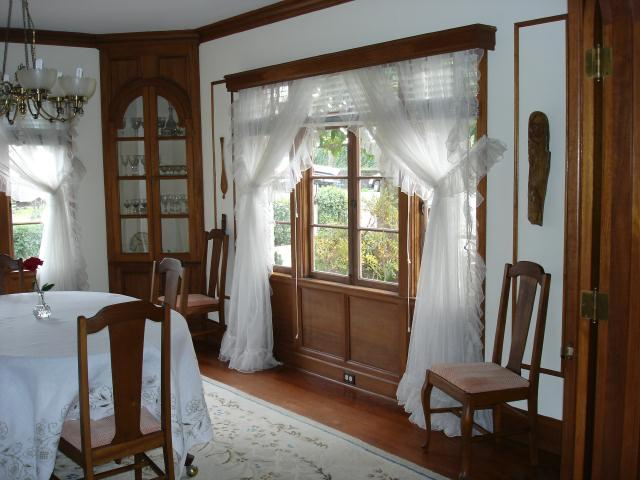 Dining-room-windows-and-cupboard | Julia Morgan House |Image 9 of 18