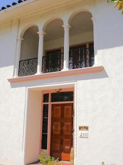 Front-balcony-and-door | Julia Morgan House |Image 5 of 18