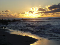 Sunset at Asilomar - Photo by Ray Hendess